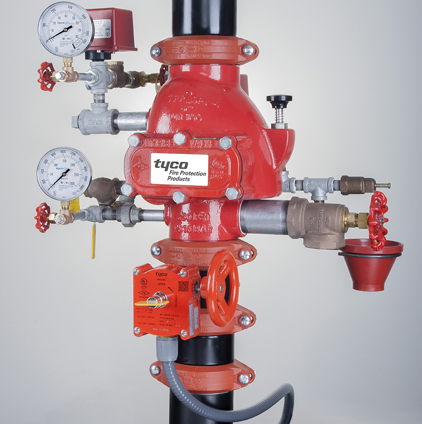 Storage Solutions for Fire Sprinkler Systems | Tyco Fire Protection