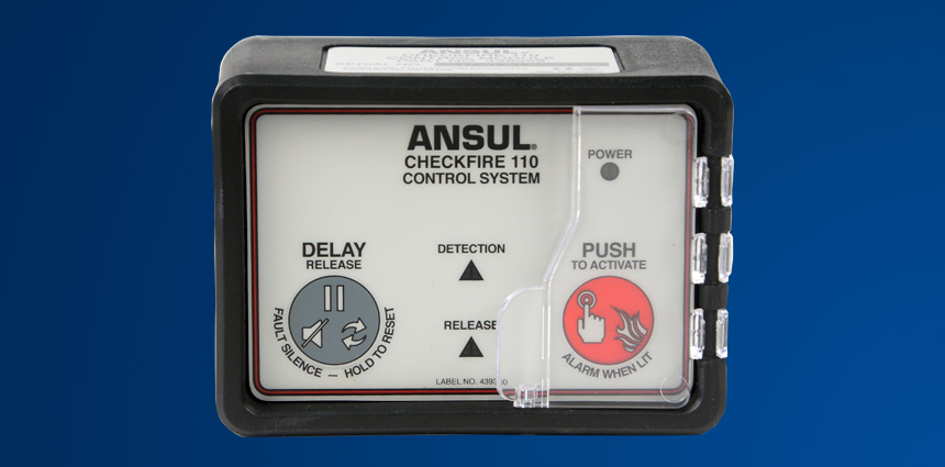 ANSUL® CHECKFIRE 110 Detection and Actuation System