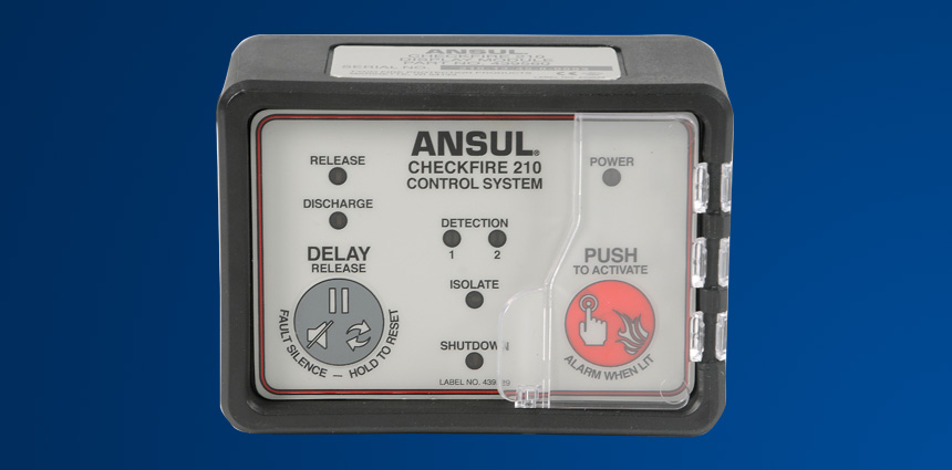 ANSUL® CHECKFIRE 210 Detection and Actuation System
