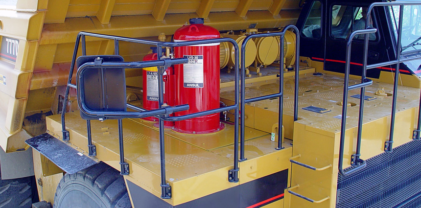 ANSUL® LVS Liquid Agent Fire Suppression System