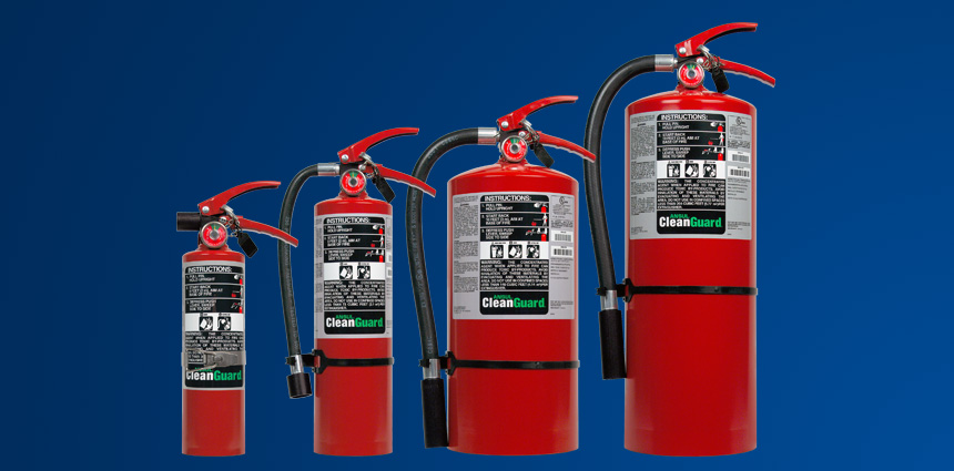CLEANGUARD Stored Pressure Fire Extinguishers