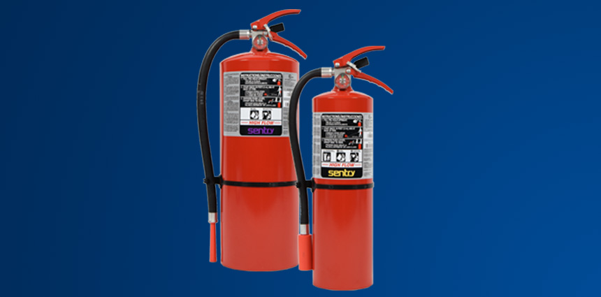 SENTRY High-Flow Stored Pressure Fire Extinguishers
